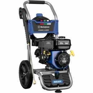 The Best Gas Pressure Washer Option: Westinghouse Outdoor Power Equipment WPX2700 Gas