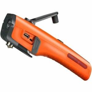 The Best Hand Crank Flashlight Option: LUXON Emergency Tool Kit LED Flashlight & USB Charger