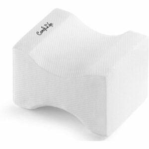 最好的膝盖枕头选项:坐骨神经内心骨折枕头的Comfilife骨科枕头