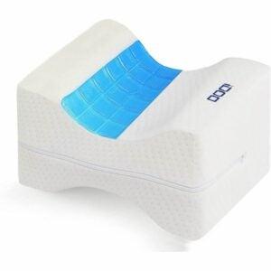 最佳膝盖枕头选择:iDOO膝盖枕头,用于背部疼痛与冷却凝胶
