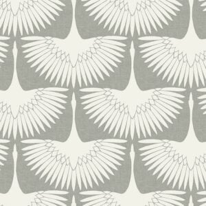 The Best Peel And Stick Wallpaper Option: Tempaper Feather Flock Wallpaper