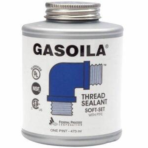 最好的管道螺纹密封胶选择:Gasoila - SS16软固定管螺纹密封胶与PTFE