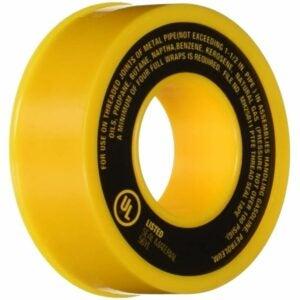 最好的管道螺纹密封选项:哈维017065气体管道PTFE螺纹密封胶带