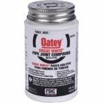最好的管道螺纹密封剂选择:ooey 31230管道接头复合PTFE与刷