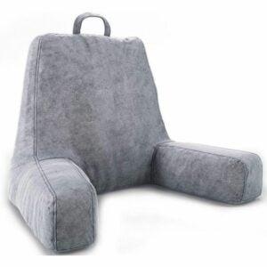 The Best Reading Pillow Option: Ziraki Large Plush Shredded Foam Reading Pillow