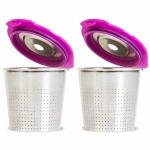 最好的可重复使用K杯选择:咖啡厅流量不锈钢可重复使用的K杯
