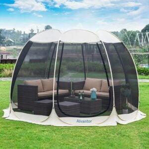 最好的屏幕帐篷选项:Alvantor屏幕房间室外野营帐篷