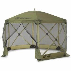 最佳屏幕帐篷选项:蛤快速设置12 x 12英尺逃生便携式弹出