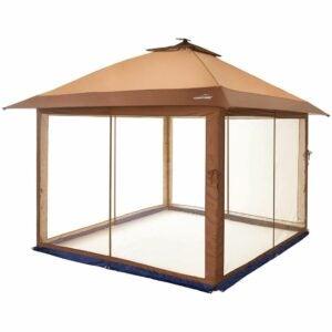 最好的屏幕帐篷选项:户外户外弹出凉亭遮阳篷