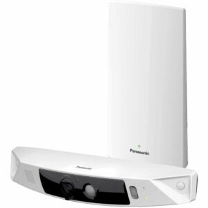 The Best Self Monitored Home Security System Option: Panasonic HomeHawk Outdoor Wireless Smart Home