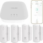 The Best Self Monitored Home Security System Option: YoLink Smart Door Sensors, 1/4 Mile World's Longest