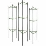 The Best Tomato Cages Option: GROWNEER 3 Packs Plant Cages Assembled Tomato Garden
