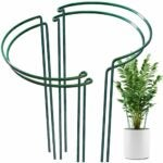 The Best Tomato Cages Option: LEOBRO 4 Pack Plant Support Stake, Plant Cage