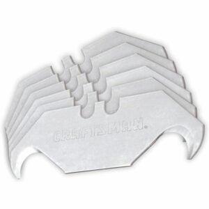 The Best Utility Knife Blades Option: CRAFTSMAN Utility Knife Blades, Hook, 50 Pack