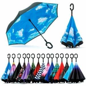 The Best Uv Umbrella Option: Spar. Saa Double Layer Inverted Umbrella