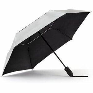 The Best Uv Umbrella Option: Sungrubbies UV Travel Sun Umbrella Lightweight UPF 50