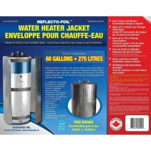 The Best Water Heater Blanket Option: REFLECTIVE FOIL HOT WATER TANK HEATER INSULATION