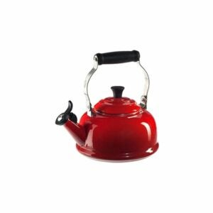 The Best Whistling Tea Kettle Option: Le Creuset Enamel On Steel Whistling Tea Kettle