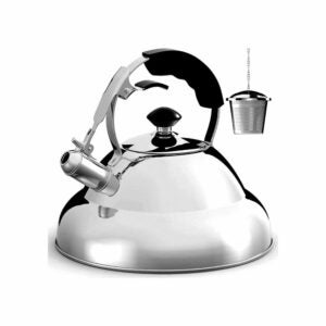 The Best Whistling Tea Kettle Option: Willow & Everett Stovetop Whistling Tea Pot