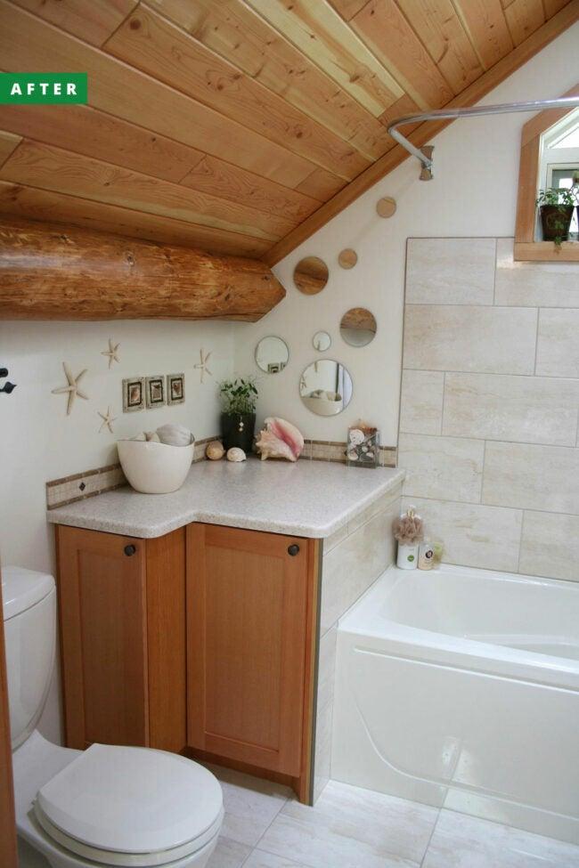bathtub insulation hack after remodel