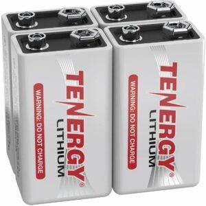 最佳的9V电池选项:1200mAh的代理9V电池电池