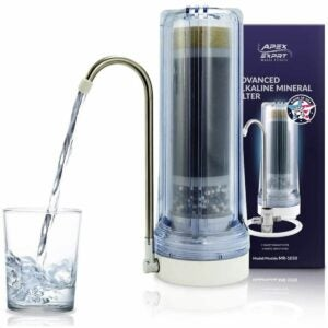 最佳碱性水过滤器探针选项:顶点5-阶段碱性过滤系统