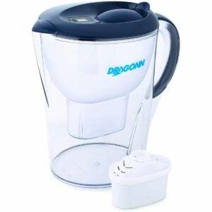 最好的碱性水过滤器投手选项:Dragonn碱性水投球机 -  3.5升,增强