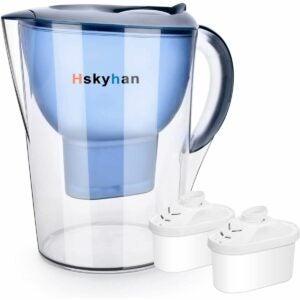 最佳碱性水过滤器储存器选项:Hskyhan碱性水过滤器 -  3.5升