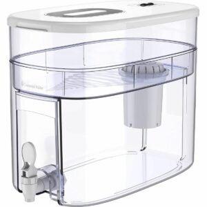 最好的碱性水过滤器探针选项:重塑水10杯碱水槽
