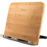 Best Book Stand Options: READAEER BamBoo Book Stand Large Size