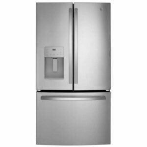 The Best Bottom Freezer Refrigerator Option: GE 25.6 cu. ft. French Door Refrigerator