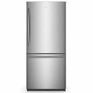The Best Bottom Freezer Refrigerator Option: Hisense 17.1-cu ft Bottom-Freezer Refrigerator