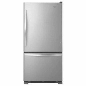 The Best Bottom Freezer Refrigerator Option: Whirlpool 22 cu. ft. Bottom Freezer Refrigerator