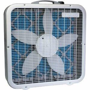 最佳盒式风扇选项:Lasko Air Flex 20英寸盒风扇和空气净化器