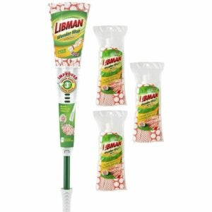 The Best Mop For Tile Floors Option: Libman Wonder Mop & Refills Kit