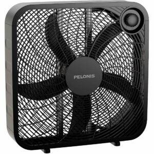 最好的盒子风扇选择:PELONIS 3速盒子风扇
