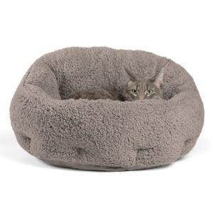 Best Cat Beds Options: Best Friends by Sheri OrthoComfort Deep Dish Cuddler