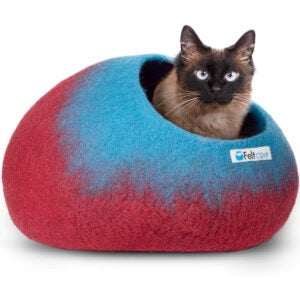 Best Cat Beds Options: Feltcave Wool Cat Cave Bed (Medium)