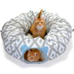 Best Cat Beds Options: Kitty City Large Cat Tunnel Bed