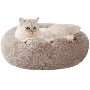 Best Cat Beds Options: Love's cabin 20in Cat Beds for Indoor Cats