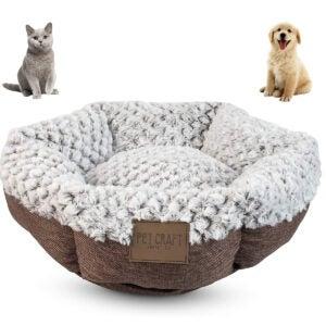 Best Cat Beds Options: Pet Craft Supply Soho Round Machine