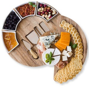 Best Cheese Board Options: Cheese Cutting Board Set - Charcuterie Board Set