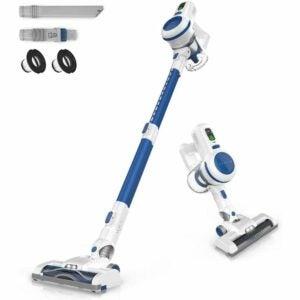 The Best Electric Broom Option: ORFELD Cordless Vacuum, 17000pa Stick Vacuum