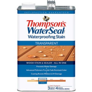 Best Exterior Wood Stain Options: THOMPSONS WATERSEAL TH.041851
