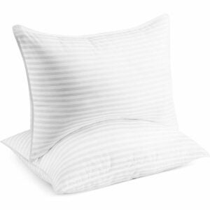The Best Feather Pillows Option: Beckham Hotel Collection Bed Pillows for Sleeping