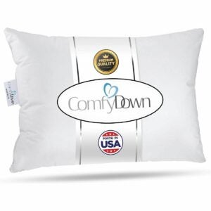 The Best Feather Pillows Option: ComfyDown Travel Pillow