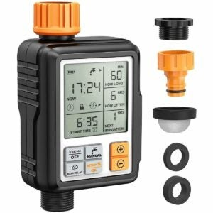 The Best Hose Timer Option: Homitt Programmable Water Timer