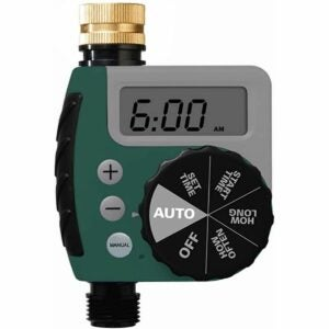 The Best Hose Timer Option: Orbit 62056 One Outlet Single-Dial Hose Watering