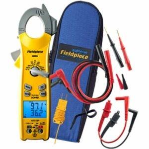 最佳HVAC万用表选项:Fluke 117电工真正的RMS万用表