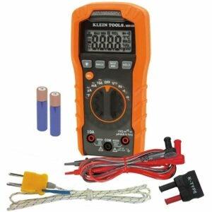 The Best Hvac Multimeter Option: Klein Tools Digital Multimeter, Auto-Ranging, 600V
